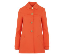 Swing Twill Coat Poppy Mantel