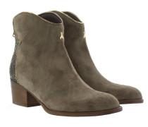 Boots & Booties - Cowboy Booties Glitter Uniform Grey/V.Gold