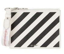 Pochette Diag Pouch Off White Black