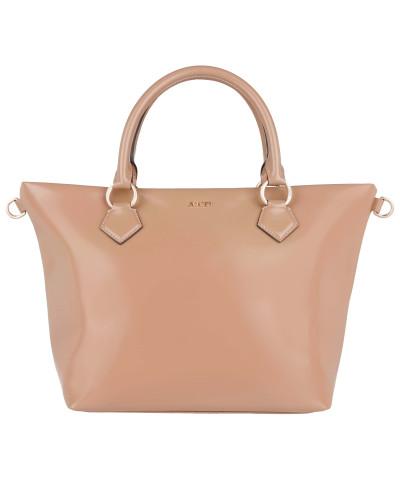 joop damen joop tasche helena handbag small polished leather camel in beige henkeltasche. Black Bedroom Furniture Sets. Home Design Ideas