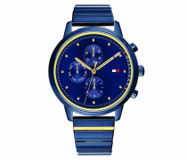 Uhr Women Multifunctional Watch 1781893 Blue/Gold