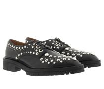 Loafers & Slippers - Masc Derby Dark Stud Black