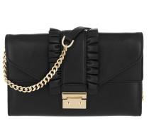 LG Envelope Wallet On A Chain Black Tasche