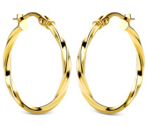 Ohrringe Creole 14KT Yellow Gold