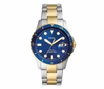 Uhren Men FB-01 Three-Hand Date Stainless Steel Watch