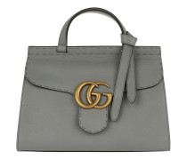 Marmont GG Tophandle Satchel Grey grau