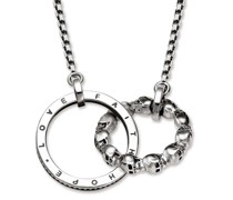Halsketten Collier Skull Love Faith Hope