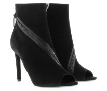 Boots & Booties - Zip Low Boot Noir