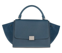 Trapeze Bag Small Petrol Satchel blau