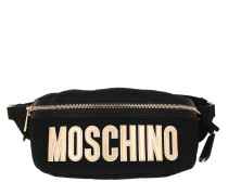 Gürteltasche Belt Bag Nylon Logo Black Fantasy Print