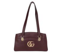 Tote Arli Large Top Handle Bag Leather Burgundy