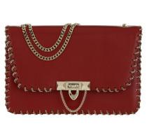 Demilune Small Bag Rosso Umhängetasche