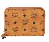 Portemonnaie Vis Org U-Z12 New Zip Wallet Mini Cognac