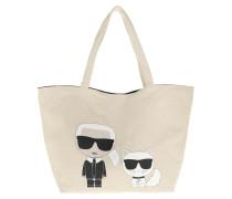 Shopper Ikonik Karl And Choupette Tote Bag Natural