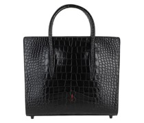 Tote Paoloma Medium Crossbody Bag Leather Black
