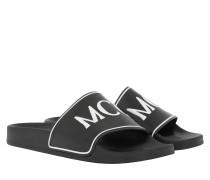 Schuhe Infinity Slide Black White