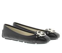 Fulton Mocassin Shoes Black Ballerinas