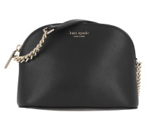 Umhängetasche Small Dome Crossbody Bag Black