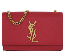 Monogramme Kate Umhängetasche Bag Grain de Poudre Red