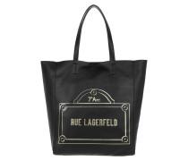 Rue Lagerfeld Shopper Black Umhängetasche