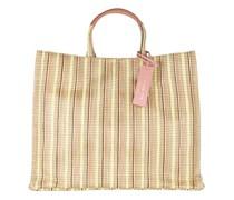 Shopper Handbag Synthetic Multi Fabric