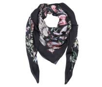 Valentino Schal - Fantastic Animals Silk Scarf Nero - in bunt - Schal für Damen