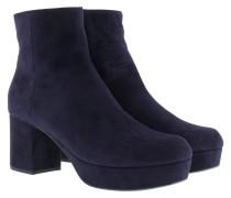 Boots & Booties - Calzature Donna Camoscio Booties Bleu