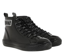 Sneakers VLTN High Top Leather Black