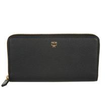 Milla Zip Large Wallet Black Portemonnaie