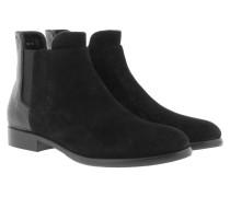 Boots & Booties - Nuria Chelsea Suede Black