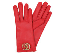 GG Gloves with Pearl Logo Red Handschuhe rot