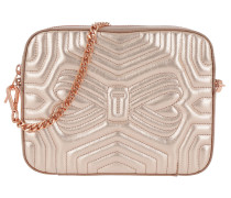 Sunshine Quilted Camera Bag Rose Gold