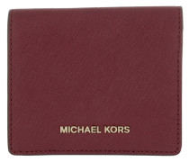 Money Pieces Flap Card Holder Mulberry