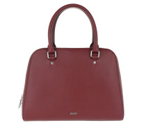 Pure Diana Shopper Dark Red Bowling Bags