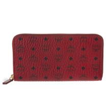 Kleinleder - Color Visetos Zip Around Wallet Large Ruby Red