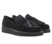 Loafers & Slippers - King Crosta Flats With Tassel Pony Negro