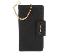 Madras iPhone Case Bag Nero Handy Hülle