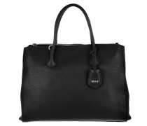 Tote Business Shopper Busy Large Black Nickel