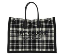 Shopper Rive Gauche Tote Bag Noe Cabas Off White Nero