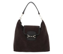 Hobo Bag Diana Dark Brown