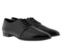 Ismene Derby Lace II Patent Black Schuhe schwarz