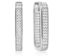 Ohrringe Matera Grande Earrings White Zirconia 925 Sterling Silver