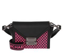 Umhängetasche Whitney Xs Belt Bag Black/Neon Pink schwarz