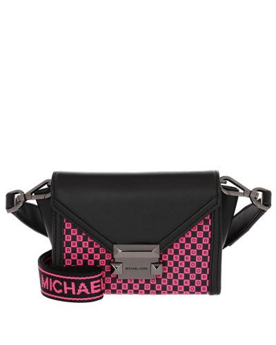 Umhängetasche Whitney Xs Belt Bag Black/Neon Pink