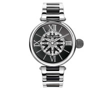 Uhr Watch Karma Black/Silver