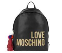 Backpack Tassel Nero Rucksack