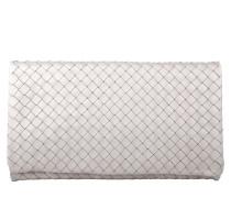 Tasche - Piuma Woven Clutch Light Grey