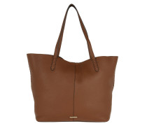 Medium Unlined Tote With Whips Almond