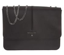 Tasche - Shoulder Bag Flap Over Black