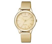 Uhr Wristwatch Yellow Gold